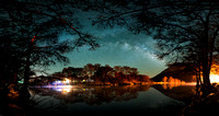 Milky Way over the Frio River