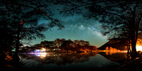 08-Milky Way over the Frio River