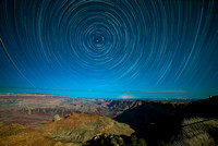 Grand Canyon star trails