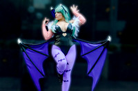 Morrigan from Darkstalkers
